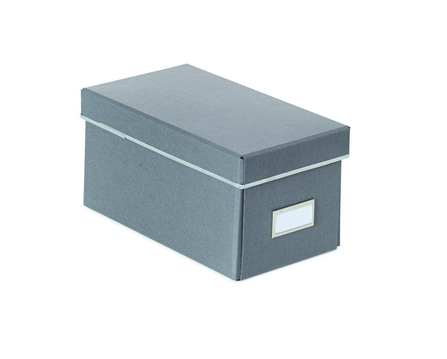 Populära Förvaringslådor i återvunnen kartong för CD/DVD - Lekolar II-85