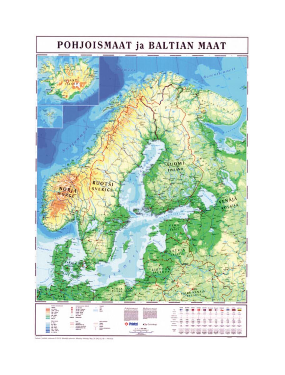 norden karta Norden karta skensystem   Lekolar Sverige norden karta