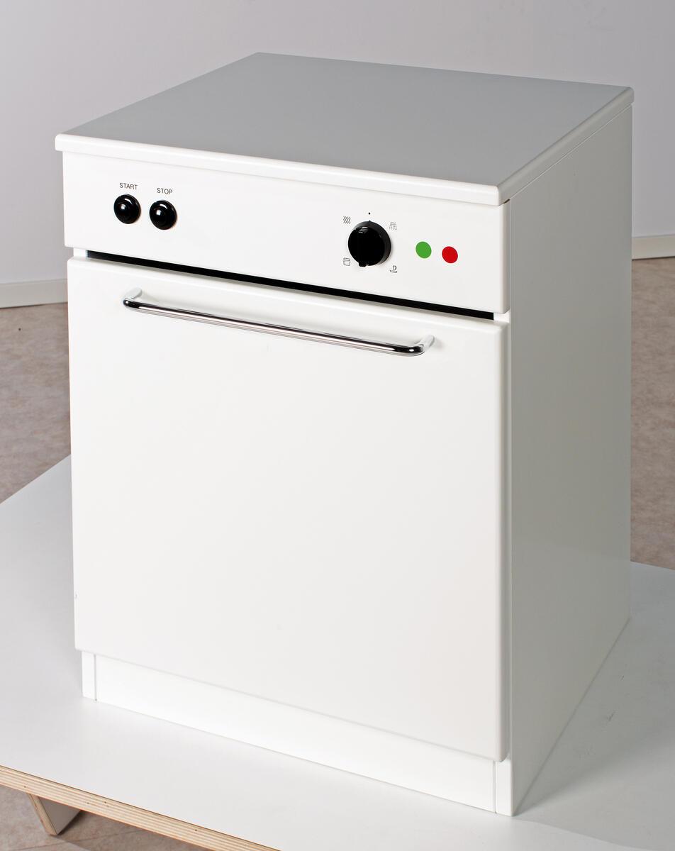 Alfred diskmaskin, vit lucka - Lekolar Sverige