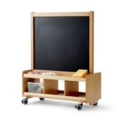 Rullstaffli whiteboard/blackboard