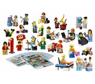 LEGO® Education Yrkesarbetare, set med minifigurer