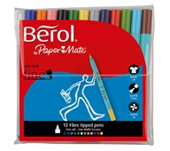 Fiberpennor Berol Fine 12-pack