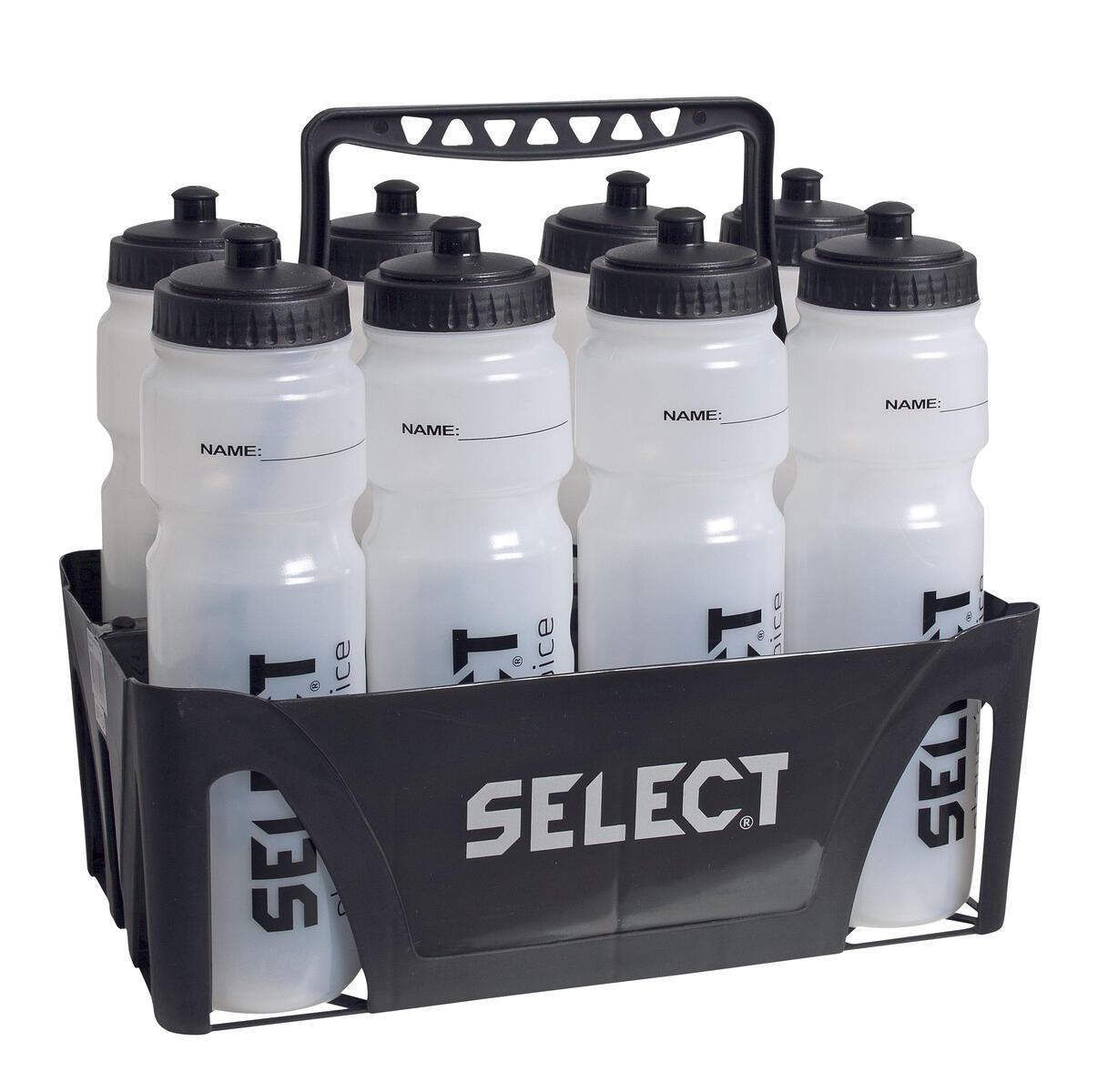 vattenflaskor med ställ